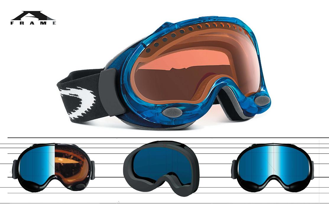 oakley ski goggles a frame  goggles 芦 Adamantium Mind Labs